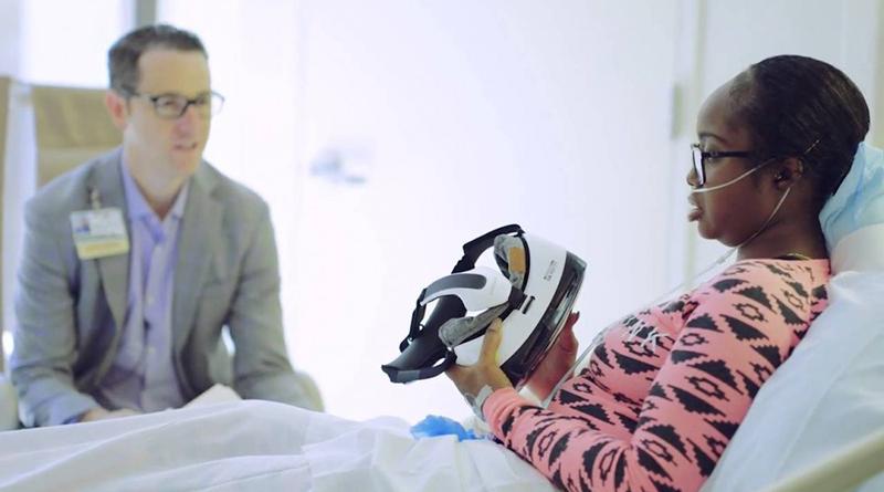 1e252502a Realidade virtual é utilizada para aliviar dores