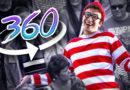 Onde está Wally em 360º
